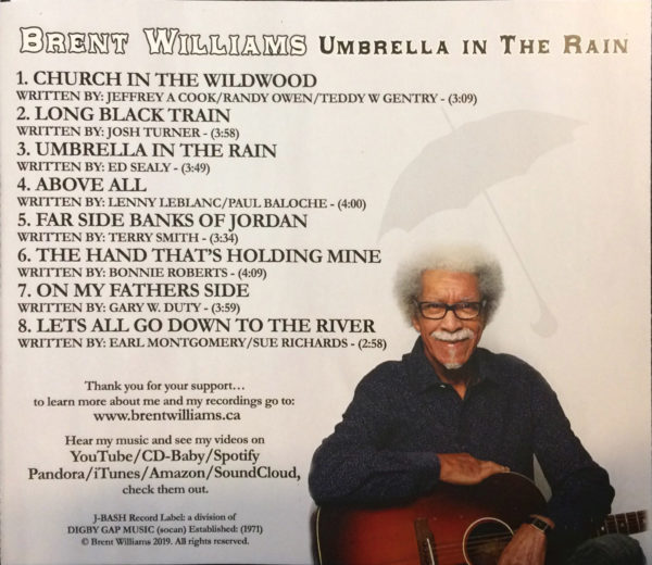 Umbrella in the Rain Album Back